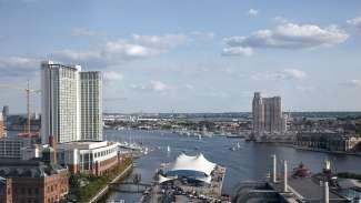 Het stadsdeel Inner Harbor biedt tal van bezienswaardigheden zoals het Aquarium, historische schepen en Power Plant Live.