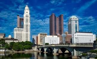 Columbus is de hoofdstad en grootste stad in de staat Ohio.