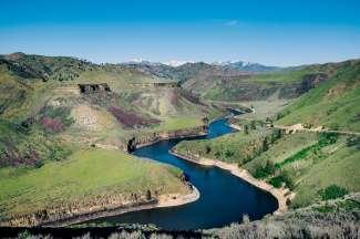 Natuurliefhebbers kunnen in Boise genieten van de prachtige natuur.