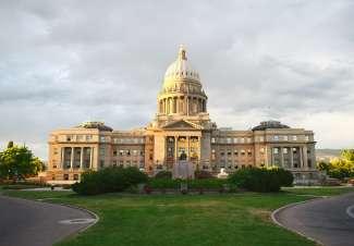 Het Idaho State Capitol bevindt zich in het centrum van Boise.