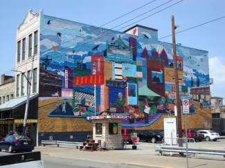 Geniet van het Art district in de stad