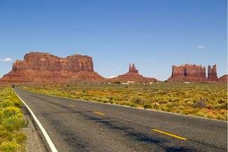 Indrukwekkend uitzicht op Monument Valley