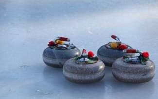 Curling is een populaire wintersport in Canada, dus ook in de provincie Manitoba.