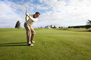 Golfen is erg populair