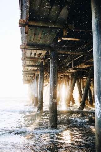 Geniet van onwijs mooie stranden en pieren in dit gebied