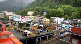 De hoofstad van Alaska