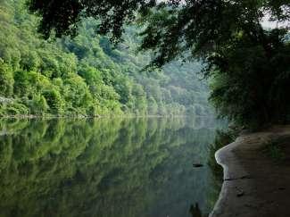 Hier vindt u meer dan 100 mijl aan hiking trails!