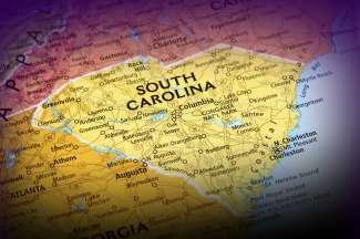 Als je naar de kaart kijkt, zie je dat de vorm van de staat een hart is.