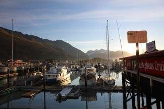 De haven van Valdez
