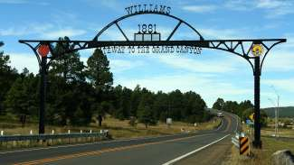 Welcome to Williams, the Gateway to the Grand Canyon