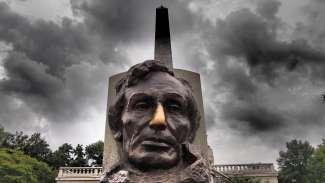 Standbeeld van Abraham Lincoln