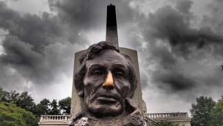 Het graf van Abraham Lincoln