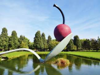 Spoonbridge and Cherry - Minneapolis