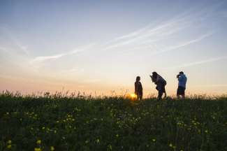 Hobbyfotografen komen in het nationale park aan hun trekken.