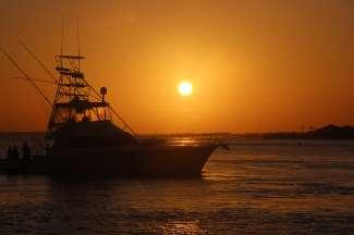 Pittoreske zonsondergangen wachten op u aan de Gulf Coast.
