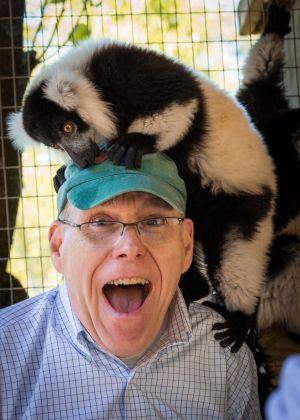 Ontmoeting met wilde dieren in de dierentuin