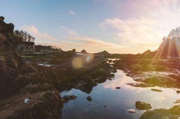 Omgeving Coos Bay