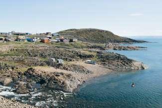 In het noorden van Canada is veel eenzaamheid en afzondering te vinden.