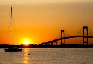 Newport biedt prachtige vergezichten over de oceaan
