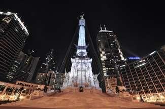 Alle straten leiden naar het centrum van de steden, de Monumentencirkel