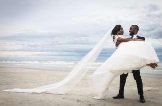 Onvergetelijke huwelijksdag