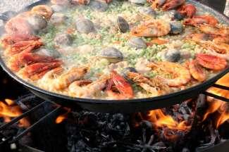 In de wijk Ironbound kun je genieten van verschillende wereldrestaurants