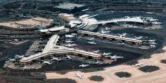 Een van de grootste luchthavens van de VS