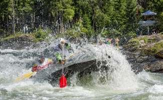 Raften op de Snake River