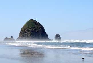 De iconische Haystack rock