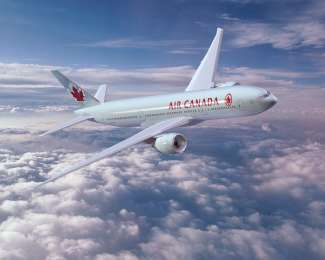 Business class met Air Canada