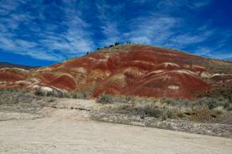 John Day Fossil Beds National Monument  in de staat Oregon