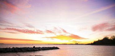 Virginia Beach zonsondergang