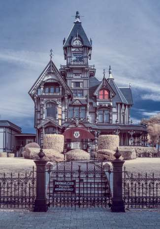 Eén victoriaanse villa in Eureka