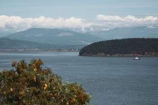De San Juan Islands in de staat Washington