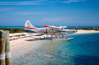 Dry Tortugas kan alleen per boot, ferry of watervliegtuig worden bereikt.