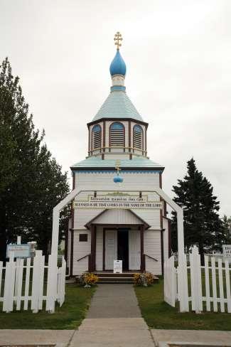 Russische Kerk in Kenai, Alaska