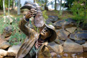 Bronzen sculpturen