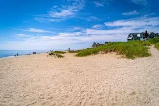 Martha's Vineyard is populair om de prachtige stranden en geliefd onder watersporters.