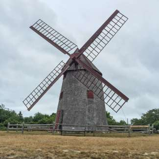De oudste nog werkende molen van het land.