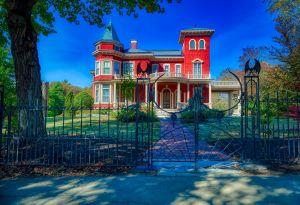 Stephen King huis in Bangor