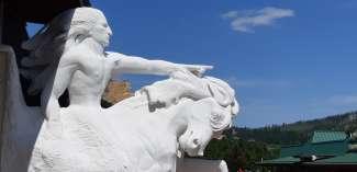 Crazy Horse, tot op de dag van vandaag nog steeds niet afgebouwd.