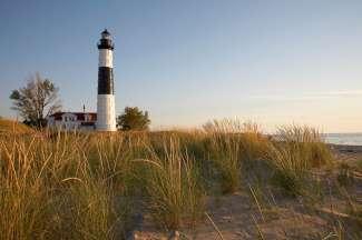 Big Sable Point Lighthouse - Lake Michigan