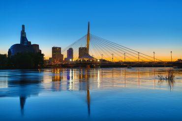 Hoofdstad Winnipeg