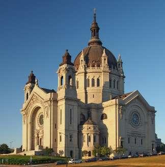Mooie kerk in St. Paul, Minnesota.