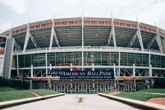 Het beroemde honkbalstadion Great American Ball Park is sinds 2003 geopend.