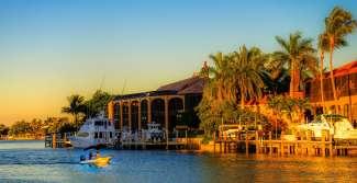 Marco Island biedt leuke restaurants aan het water, gespecialiseerd in vis en zeevruchten.